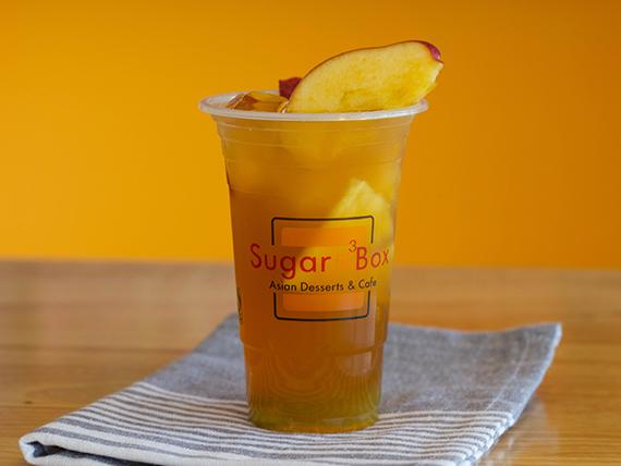 All fruit green tea