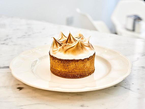 Minicake lemon pie