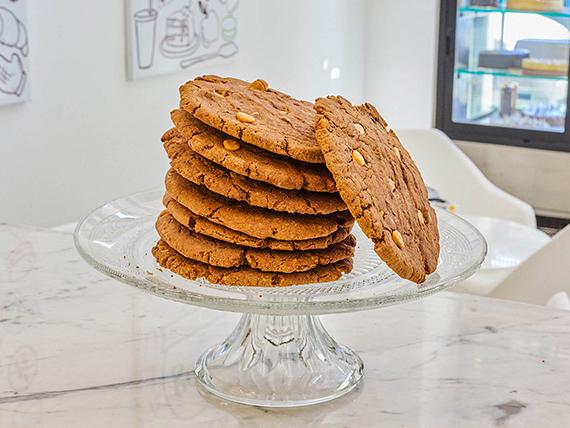 Cookies de chocolate y chips de chocolate blanco