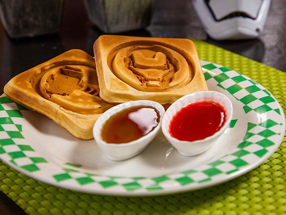 Marvel waffle (2 unidades)