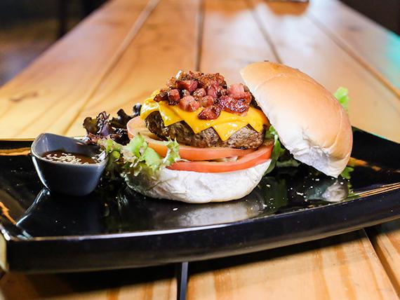Black bear burger