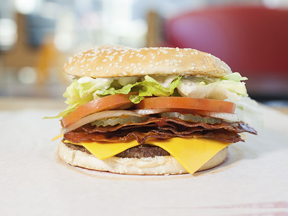 Combo Whopper® queso bacon