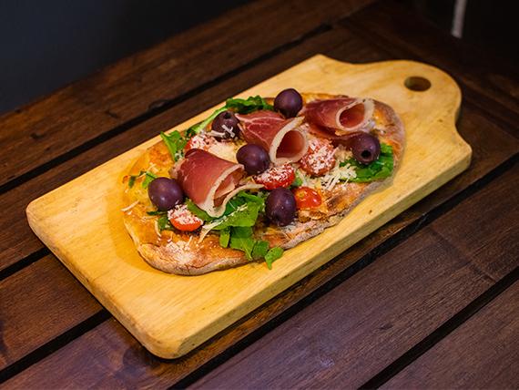 Pizza Pan Plano ruculento