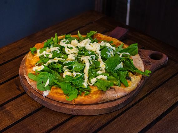 Pizza Pan Plano burrata