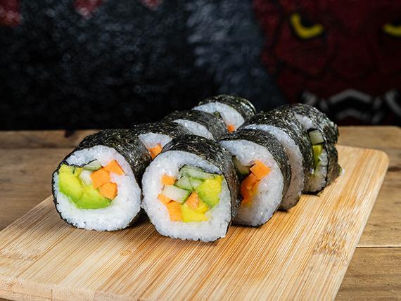 Roll vegano (8 piezas)