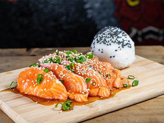 Sashimi spike shimi