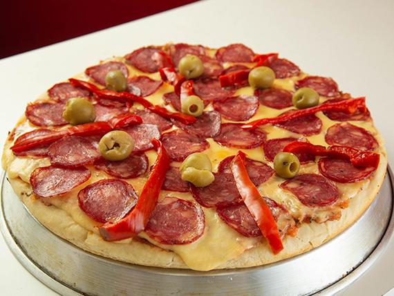 Pizza a la calabresa