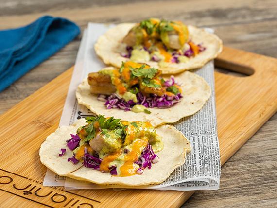Cilantro's Fish Tacos - Baja Style