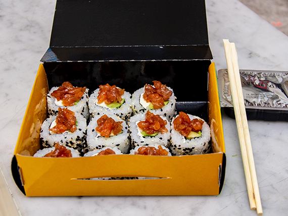 Roll salmón Piqué