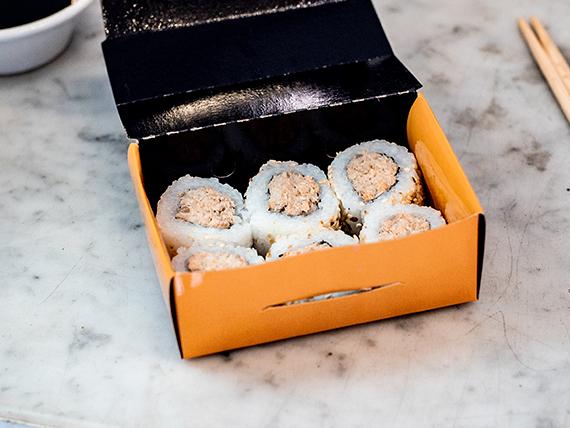 Roll salmón cocido