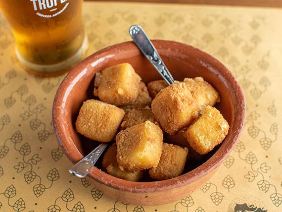 Muzzarellas fritas (8 unidades)
