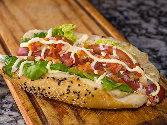Hot dog argento