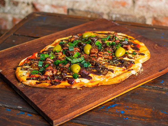 Pizza benditos
