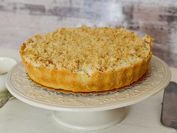 Torta apple con crumble de canela grande (24 cm)