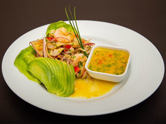Ceviche Kitchen Wok mixto