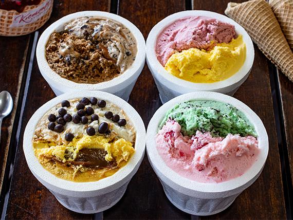 Promo - 4 helados de 1/4 kg