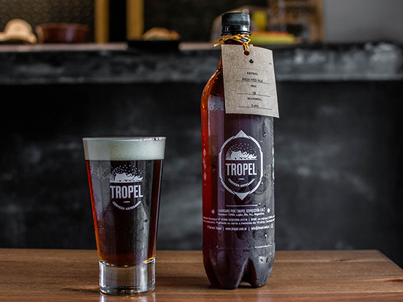 Cerveza estilo Irish Red Ale 1 L