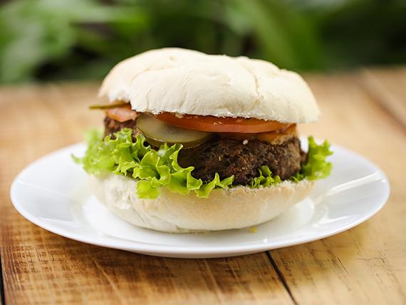 Cheeseburger al pan