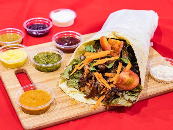 Shawarma clásico con carne a elección