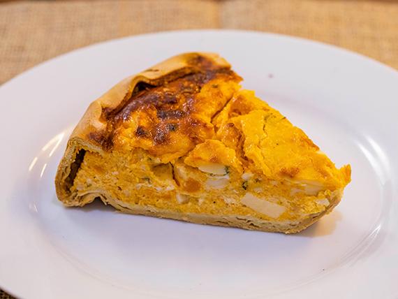 Sugerencia del día - Tarta de calabacin y queso