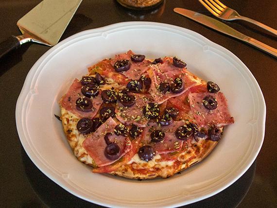 Pizza napolitana (tamaño individual)