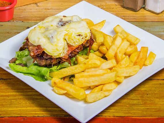Sándwich sinpaleque (sin pan)