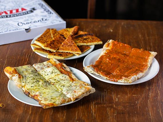 Promo Nova - 2 x 1 muzzarella + 2 x 1 pizza + 2 x 1 fainá