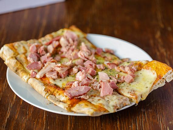 Pizzeta con muzzarella + 1 gusto