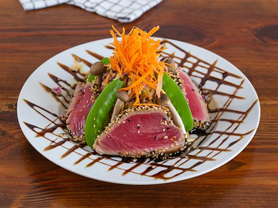 Ahi tuna salad (gluten free)