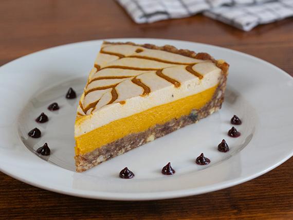Carrot cheesecake (gluten free y vegano)