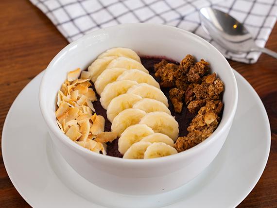 Açai bowl (gluten free y vegano)
