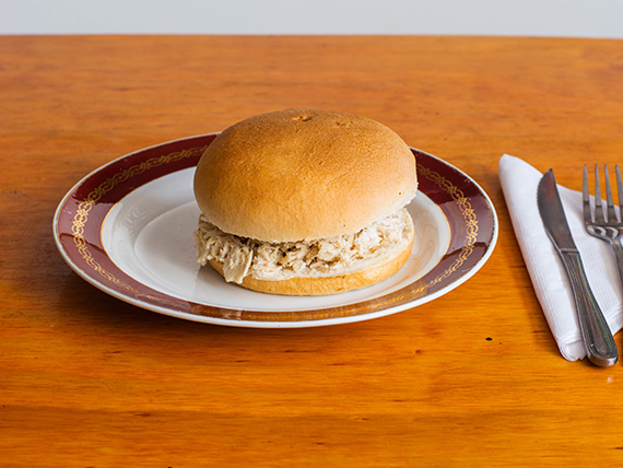 Sándwich de ave sola