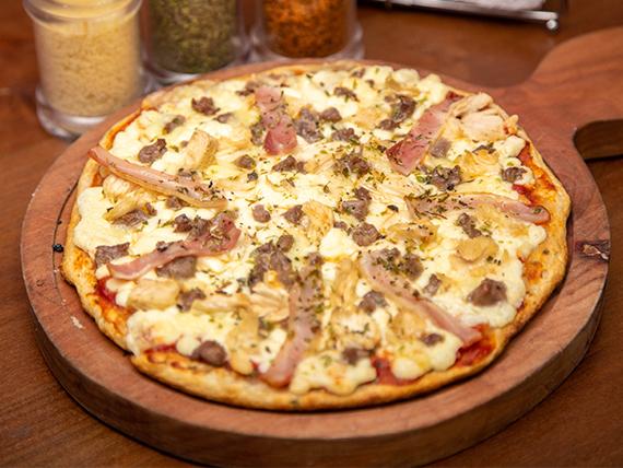 Pizza especial con carne
