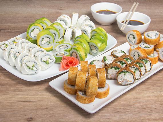 Promo -  70 piezas premium kabe sushi