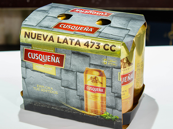Promo - Pack 6 latas Cusqueña 473 ml