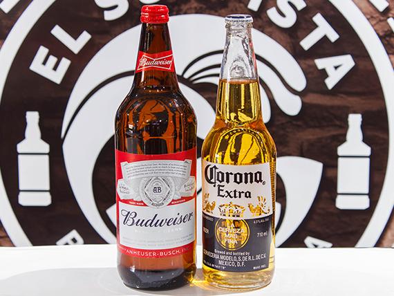 Promo - Corona 710 ml + Budweiser 946 ml