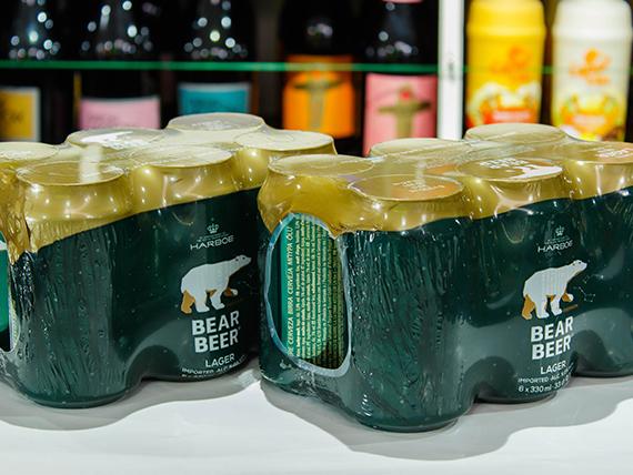 Promo - 2 Six Pack Bear Beer 330 ml