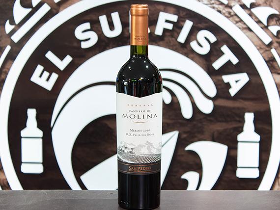Vino Castillo de Molina reserva 750 ml Merlot