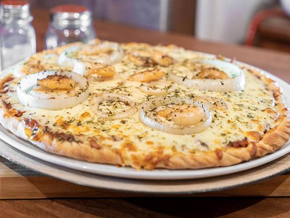 Pizza con furtos del mar (31 cm)