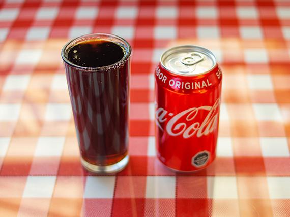 Refresco línea Coca Cola en lata 350 ml