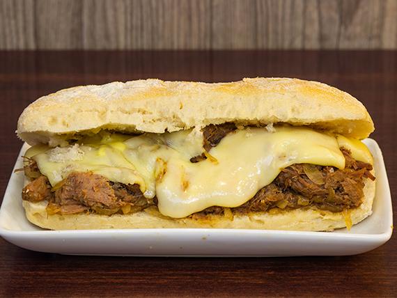 Sandwich plateada pe