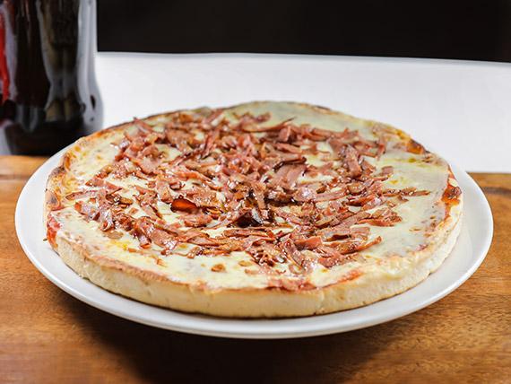 Promo 5 - Pizzeta muzzarella con 1 gusto + Coca Cola 1 L