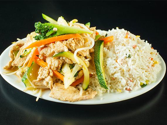 Colación - Chapsui de pollo con arroz