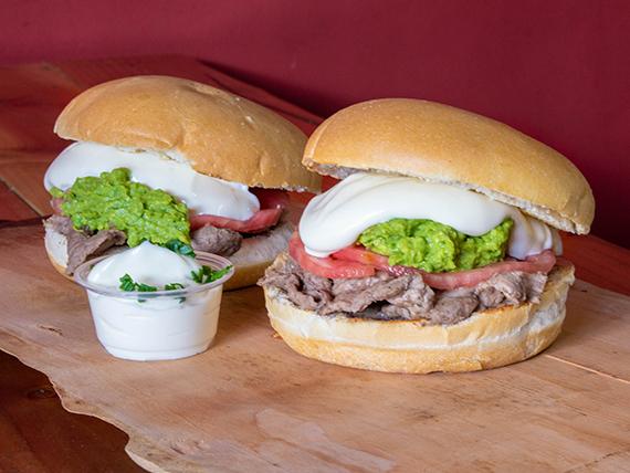 Promo 1 - 2 Sándwiches de churrascos italianos