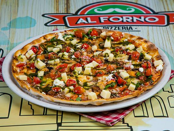 Pizza capresse (tamaño mediano)