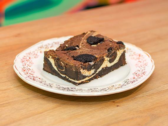 Cuadrado brownie Oreo