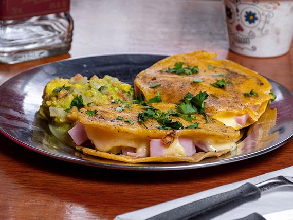 Sincronizada de jamón y queso