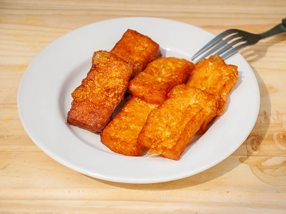 Queso frito (6 unidades)