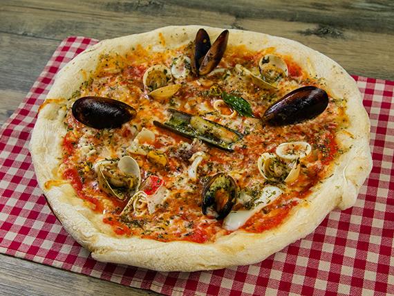 Pizza mariscos mixto