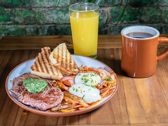 Desayuno Boliviano